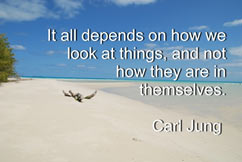 It alldepends on how you look at things